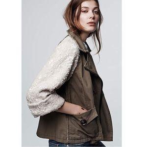 NWOT ANTHROPOLOGY Hei Hei sequin jacket